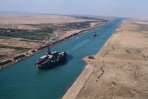 Yellow fleet Suez