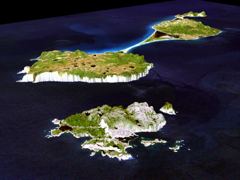 French island Saint Pierre