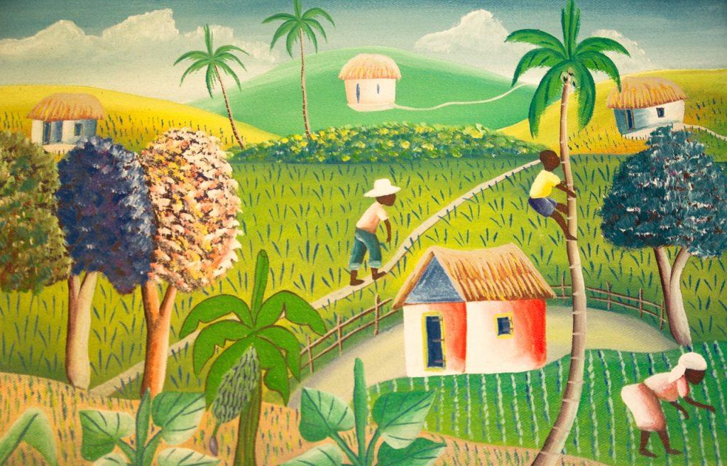 Poles in Haiti
