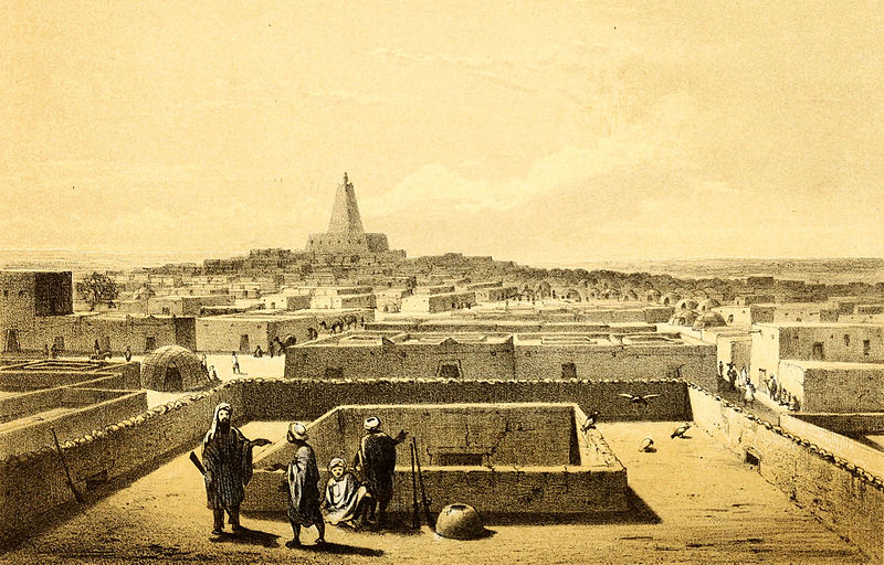 Lost cities in Arabian legends