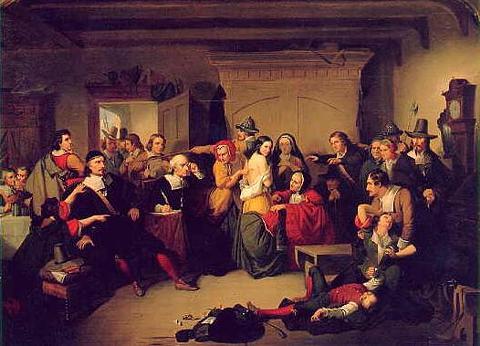 Boston witch trial