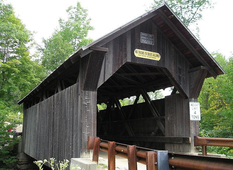 Creepy bridges in Vermont