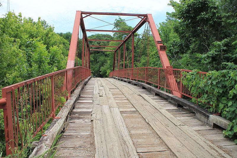 Creepy bridges of Texas