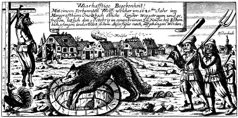 Medieval werewolves