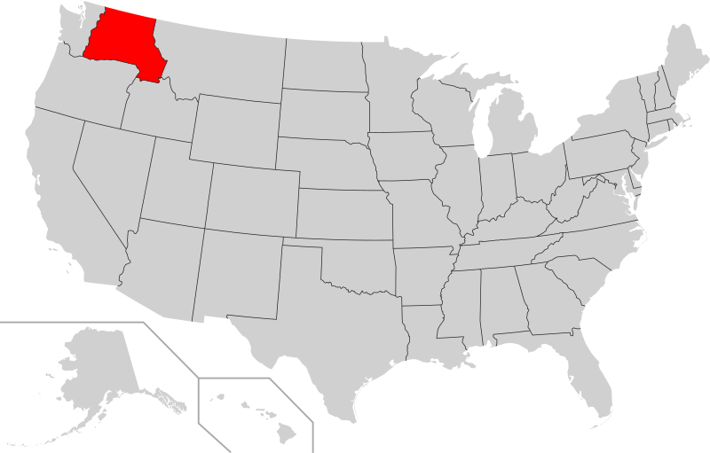 Proposed states of the Pacific north west