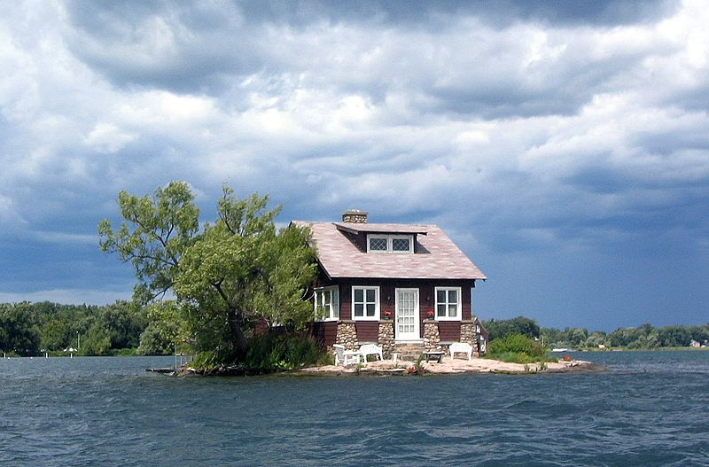 Most dangerous homes: just room enough island