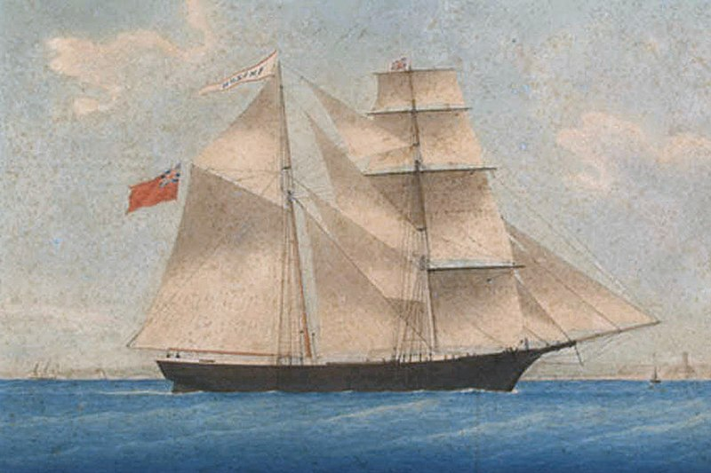 Ghost ships from history