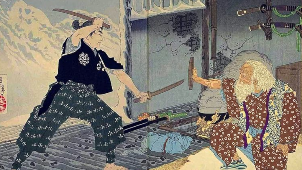 the greatest samurai fight a duel